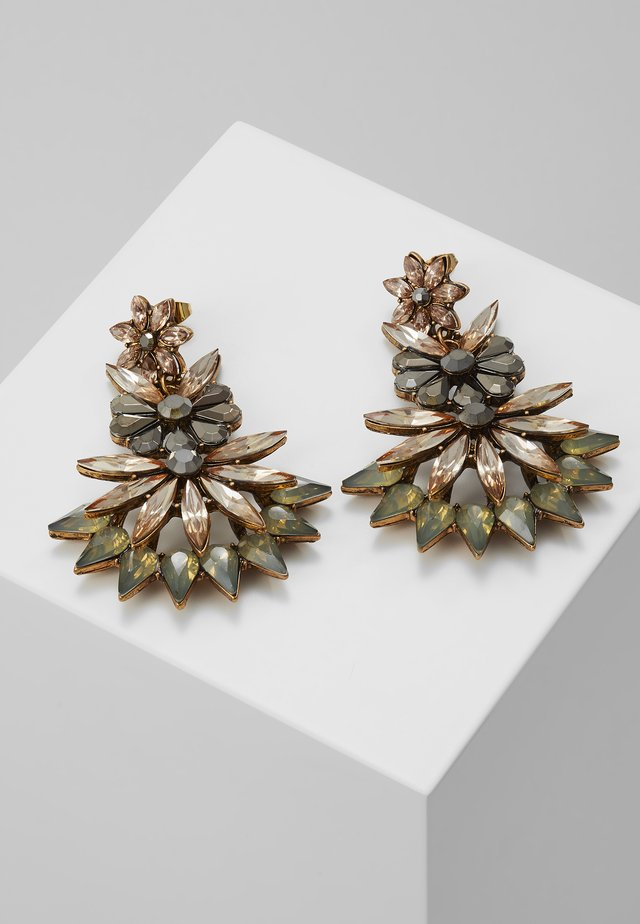 ONLFLOWER EARRING - Earrings - gold-coloured