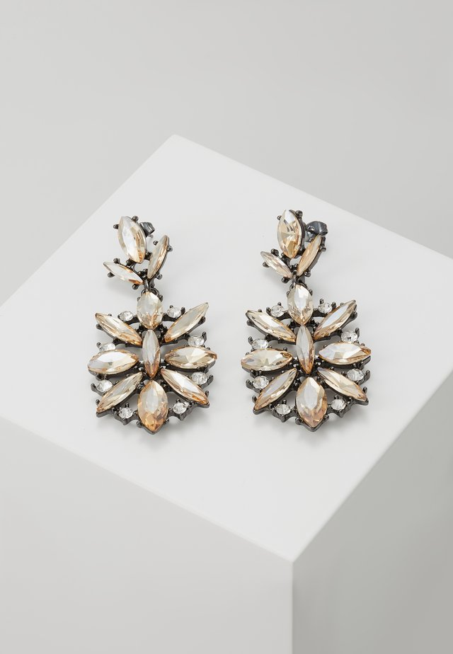 ONLSTOLEN EARRING - Pendientes - silver-colored/champagne