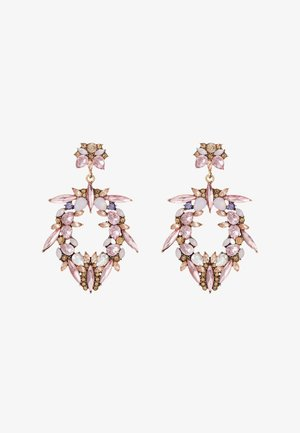 ONLBUNDY EARRING - Earrings - gold-coloured/blush