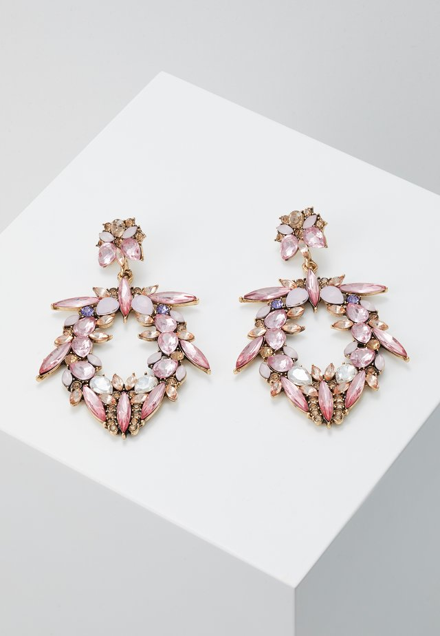 ONLBUNDY EARRING - Kolczyki - gold-coloured/blush