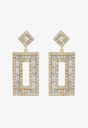 ONLBRIGHT EARRING - Pendientes - gold-coloured