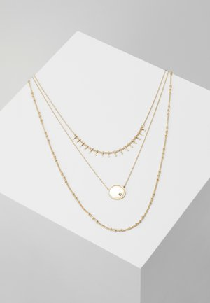 ONLCAILINA NECKLACE 3 PACK  - Naszyjnik - gold-coloured