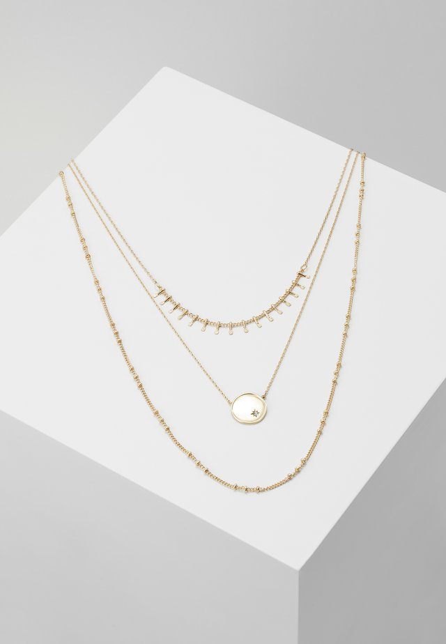 ONLCAILINA NECKLACE 3 PACK  - Náhrdelník - gold-coloured