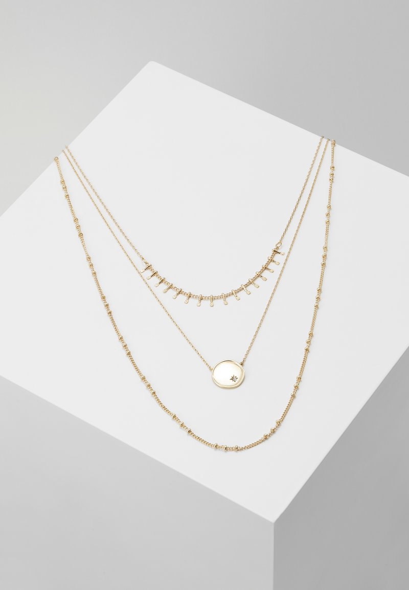 ONLY - ONLCAILINA NECKLACE 3 PACK  - Necklace - gold-coloured