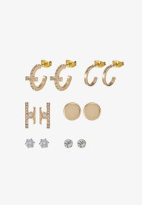 ONLY - ONLCAMI EARRINGS 7 PACK - Náušnice - gold-coloured - 1