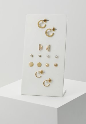 ONLCAMI EARRINGS 7 PACK - Náušnice - gold-coloured
