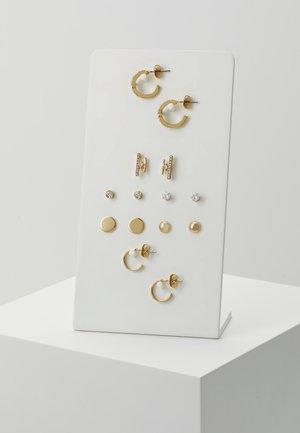 ONLCAMI EARRINGS 7 PACK - Earrings - gold-coloured