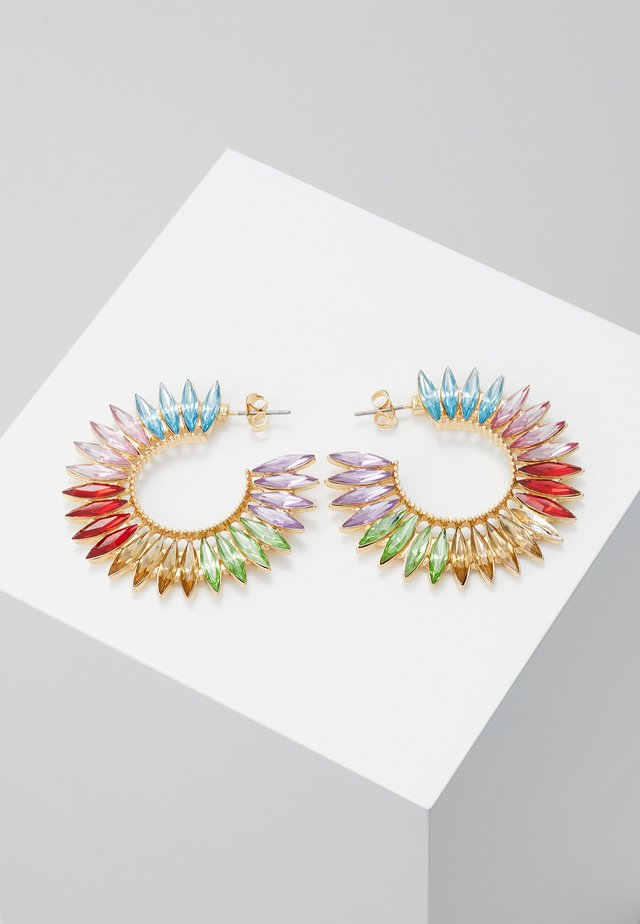 ONLWOLVO EARRING - Oorbellen - gold-coloured