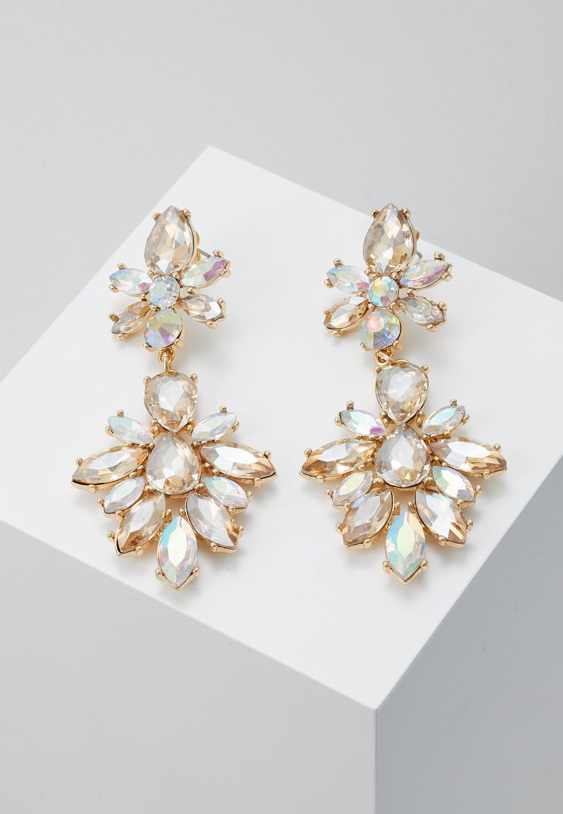 ONLY - ONLPHILI EARRING - Kolczyki - gold-coloured/champagne