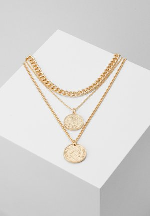 ONLSUPERB NECKLACE 3 PACK - Collier - gol-coloured