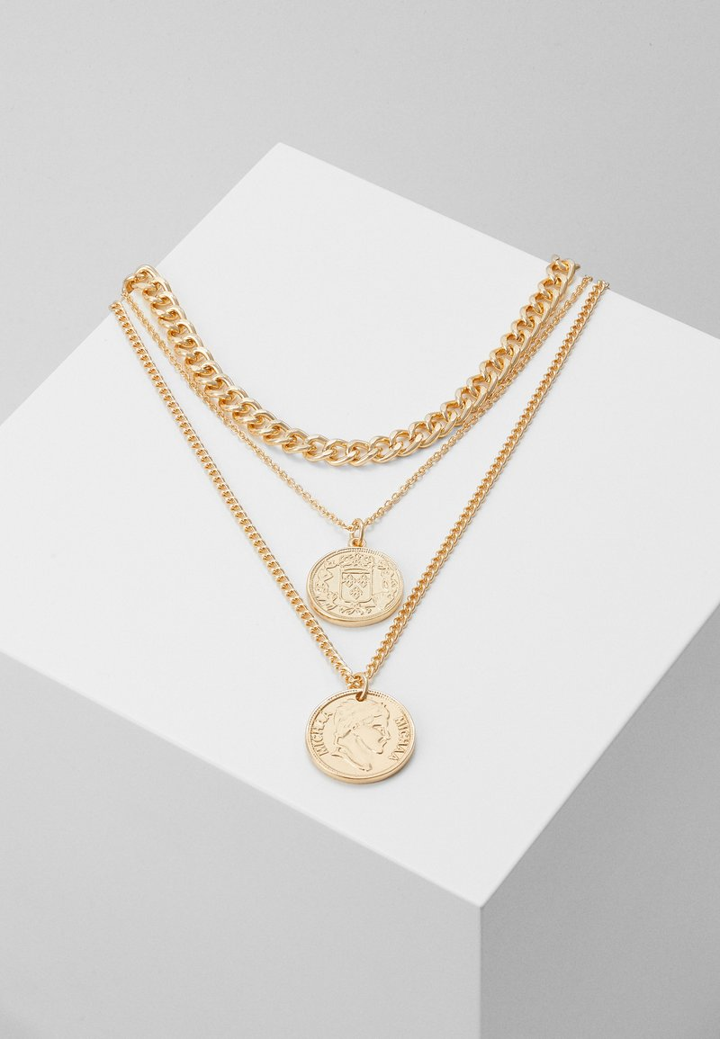 ONLY - ONLSUPERB NECKLACE 3 PACK - Collier - gol-coloured