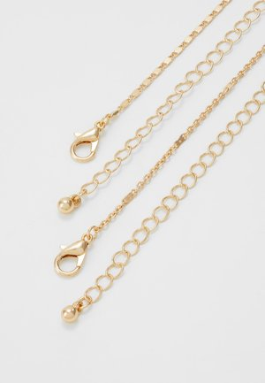 ONLSQUARE NECKLACE 2 PACK - Necklace - gold-coloured