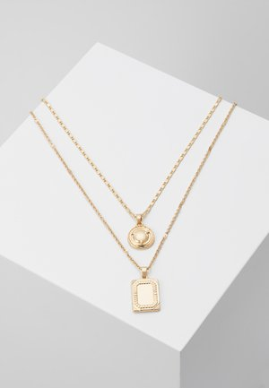 ONLSQUARE NECKLACE 2 PACK - Smykke - gold-coloured