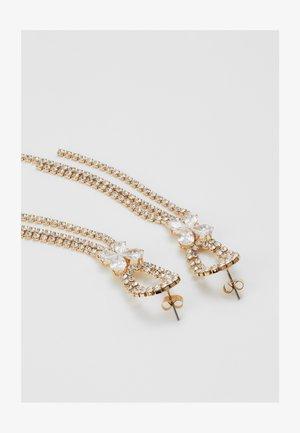 ONLDROPSTONE EARRINGS - Earrings - gold-coloured