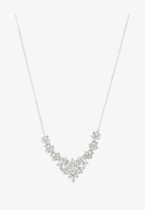ONLSHARKY NECKLACE - Collana - silver-coloured/clear