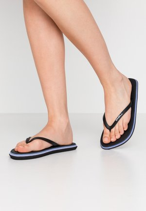 PROFILE LOGO  - Pool shoes - black out