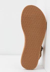 O'Neill - BATIDA COCO - T-bar sandals - light brown - 6