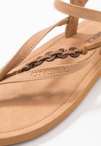 O'Neill - BATIDA COCO - T-bar sandals - light brown - 2