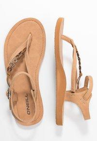 O'Neill - BATIDA COCO - T-bar sandals - light brown - 3