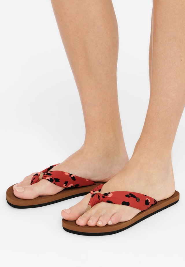 DITSY SUN - Badslippers - red