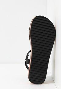 O'Neill - BATIDA PLATFORM - Platform sandals - black out - 6
