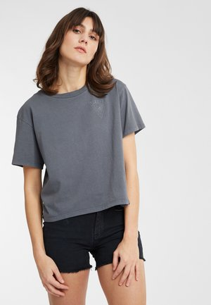 LONGBOARD  - Print T-shirt - grey