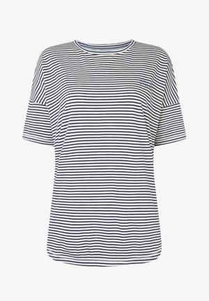 ESSENTIALS - Print T-shirt - white/blue