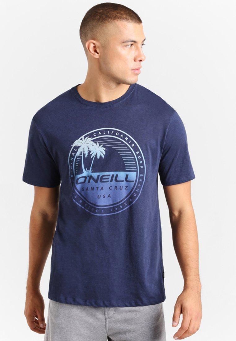 O'Neill - PALM ISLAND - T-Shirt print - ink blue