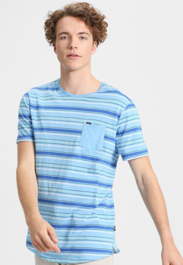 O'Neill - COSTA - T-shirt print - mottled blue
