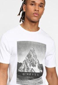 O'Neill - FULLER - T-shirt print - super white - 3