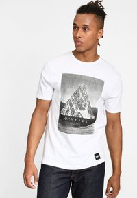 O'Neill - FULLER - T-shirt print - super white - 0