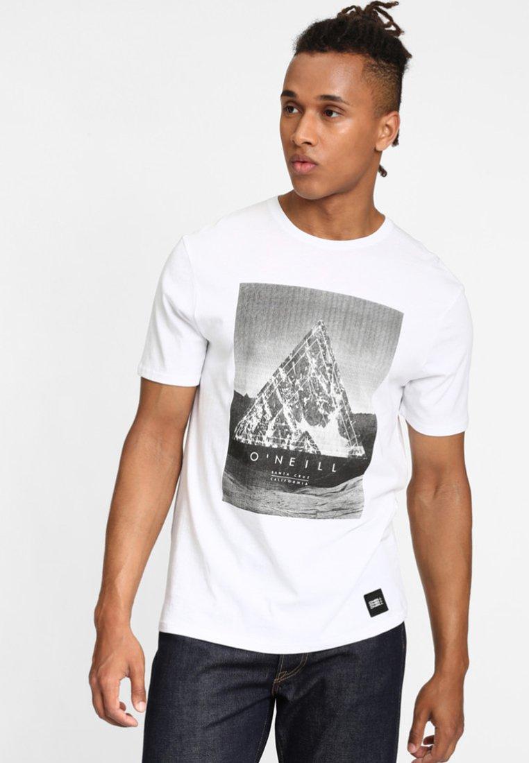 O'Neill - FULLER - T-shirt print - super white