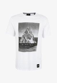 O'Neill - FULLER - T-shirt print - super white - 5