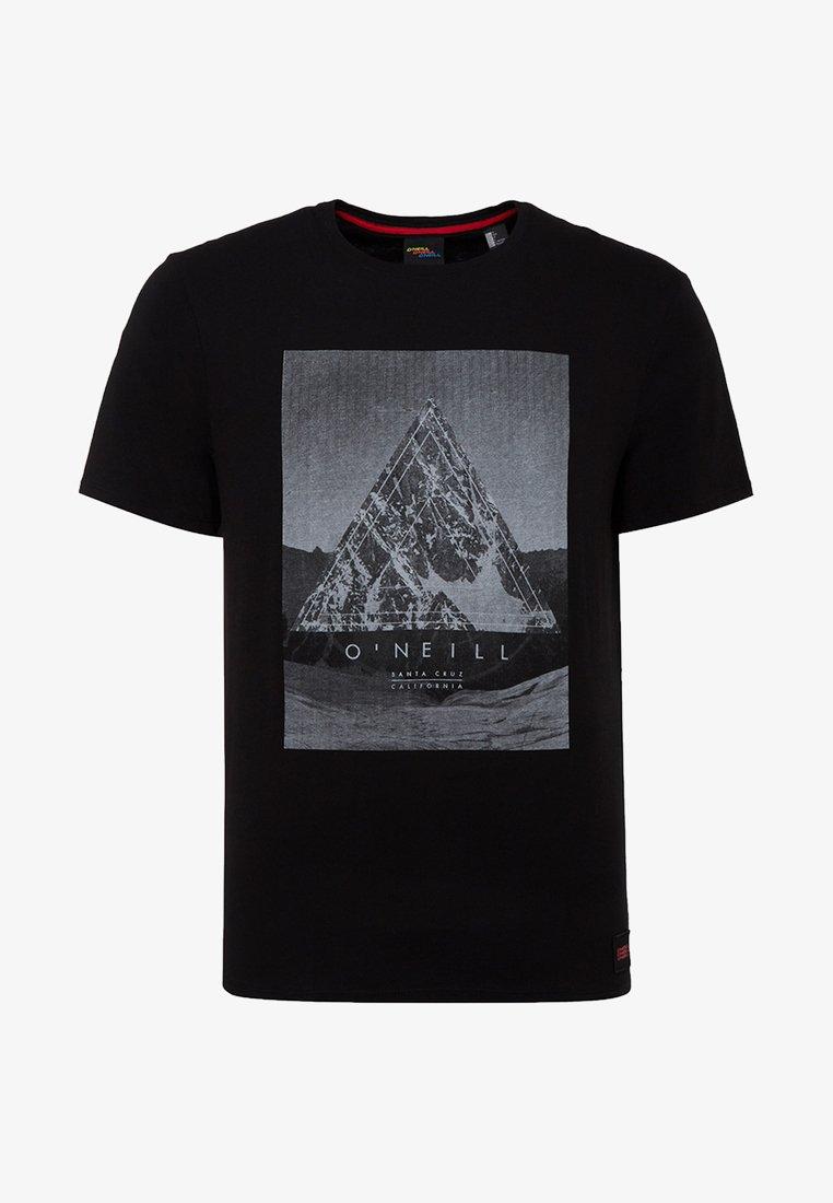 O'Neill - FULLER - T-shirt print - black