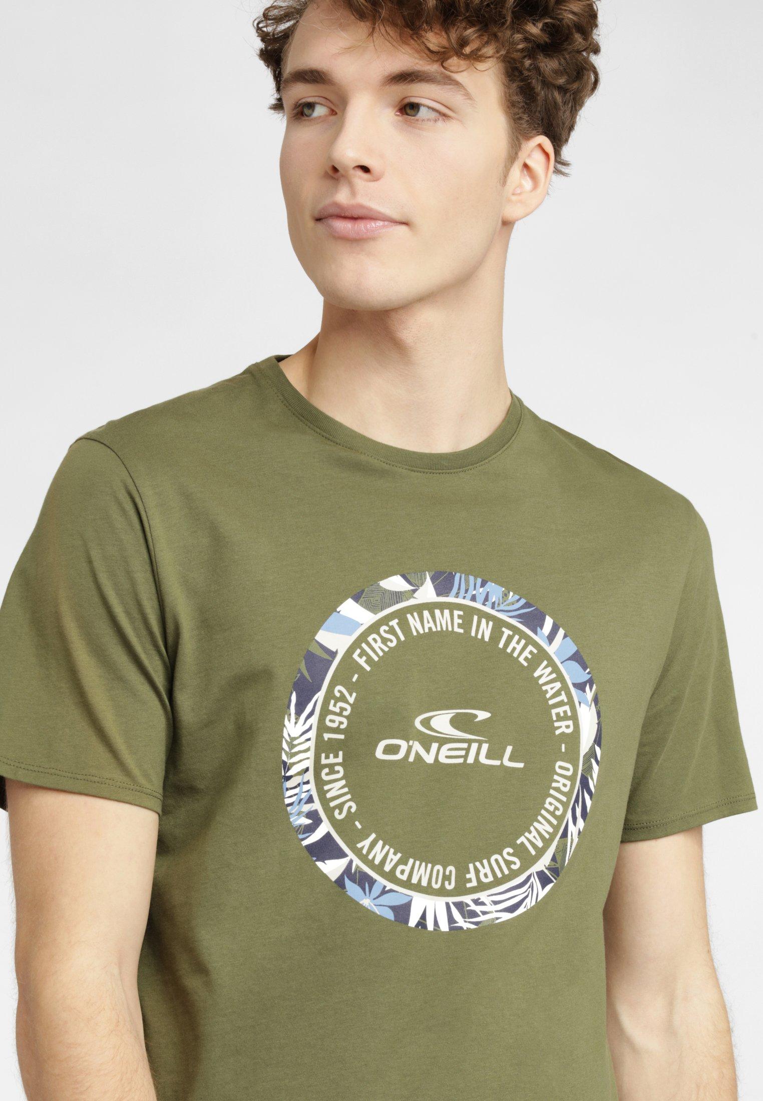 O'Neill MAKENA - T-shirt imprimé - green