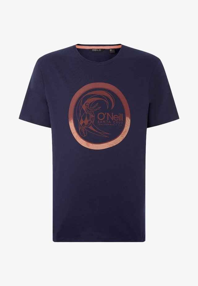 CIRCLE SURFER - T-shirt print - blue