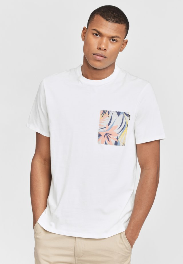 KOHALA  - Print T-shirt - powder white