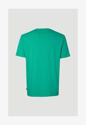 Print T-shirt - salina green