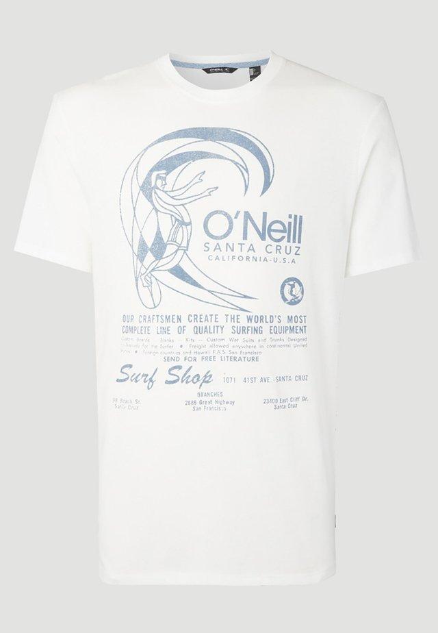O'RIGINALS PRINT - T-shirt imprimé - weiß