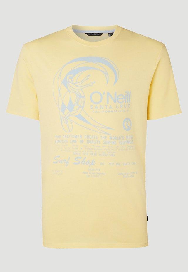 O'RIGINALS PRINT - T-shirt imprimé - gelb