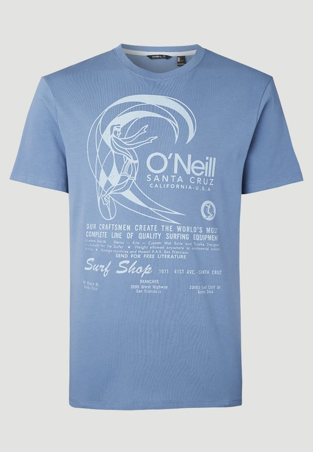 O'RIGINALS PRINT - T-shirt imprimé - blau