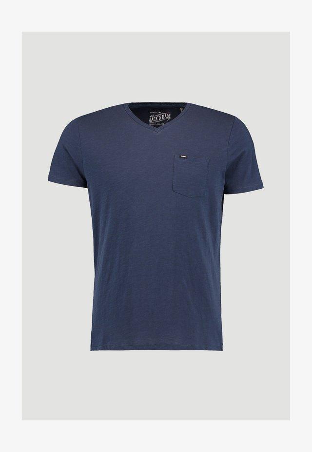 JACK'S BASE  - Basic T-shirt - ink blue