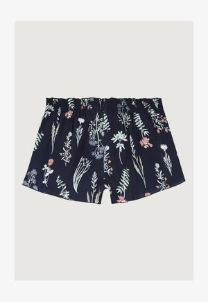 LACEY  - Short - blue aop w/ pink or purple