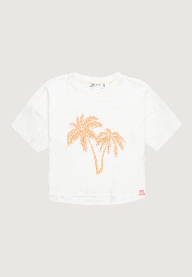 PALM - T-shirt print - weiß