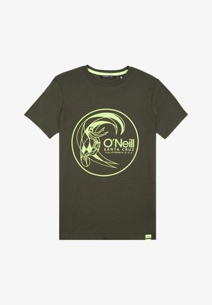 T-shirt print - forest night