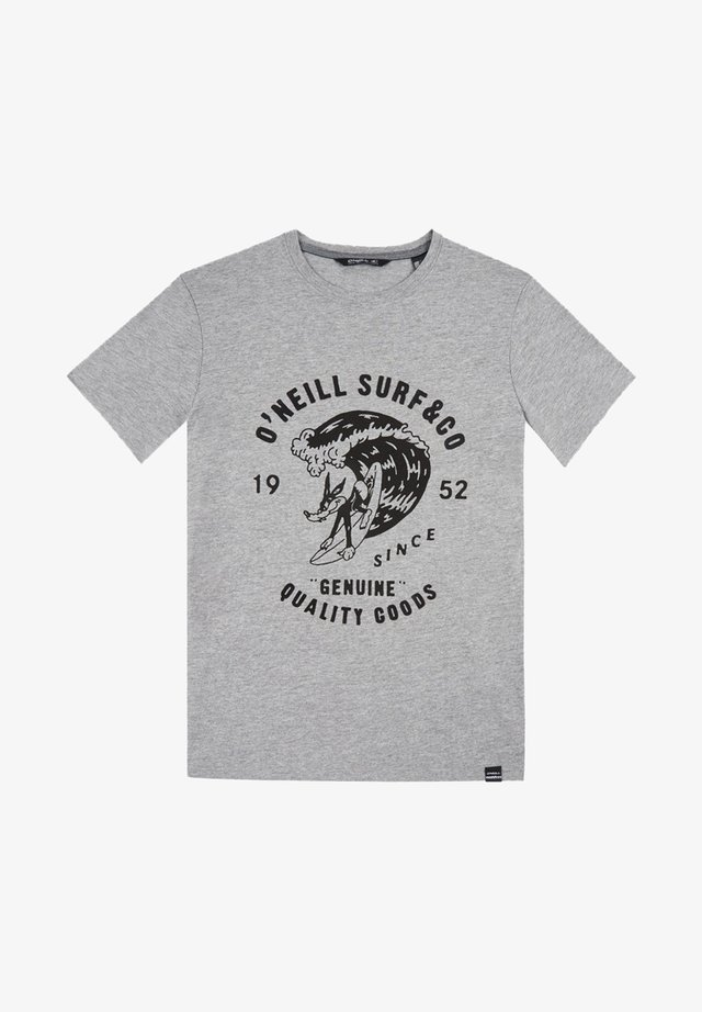 CONNOR - T-shirt print - grey