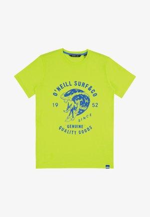 CONNOR - T-shirt print - yellow