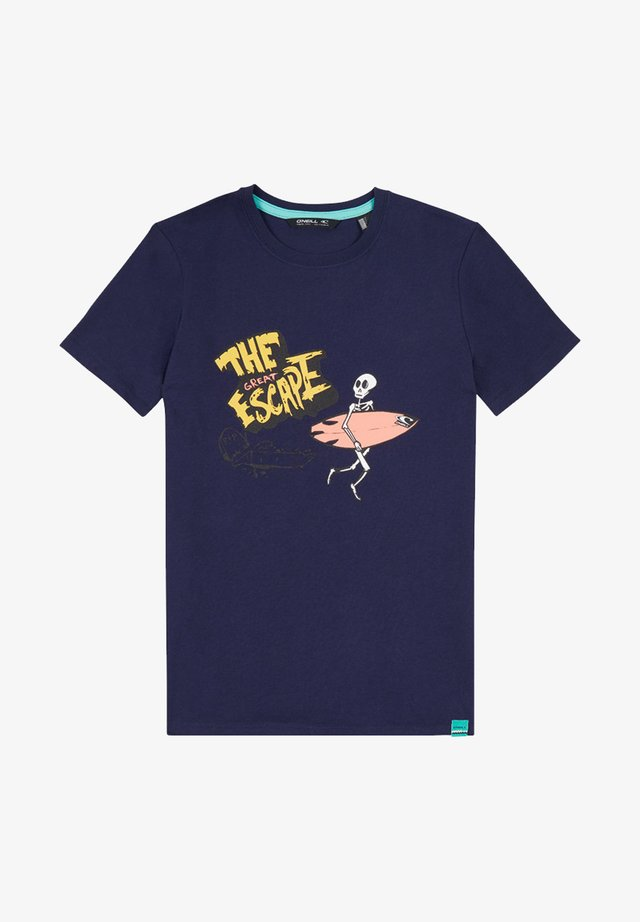 CONNOR - T-shirt print - blue