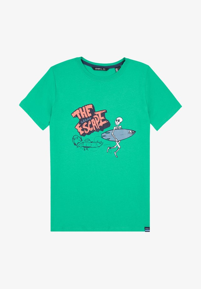 CONNOR - T-shirt print - green