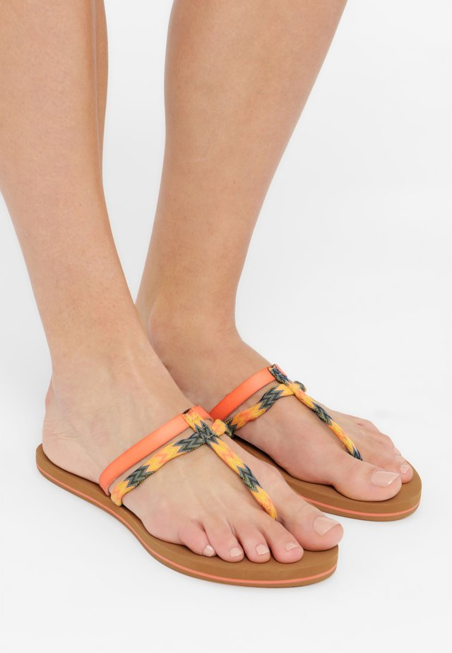 FW VENICE DITSY  - Teensandalen - canteloupe